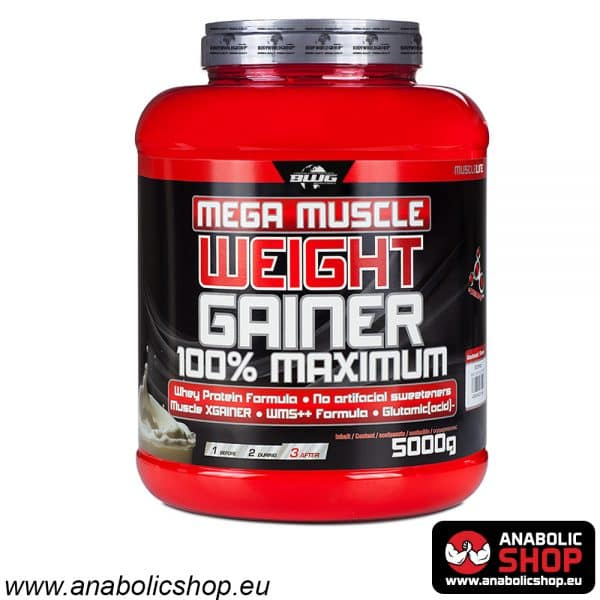 Mega Muscle Weight Gainer 100% Maximum
