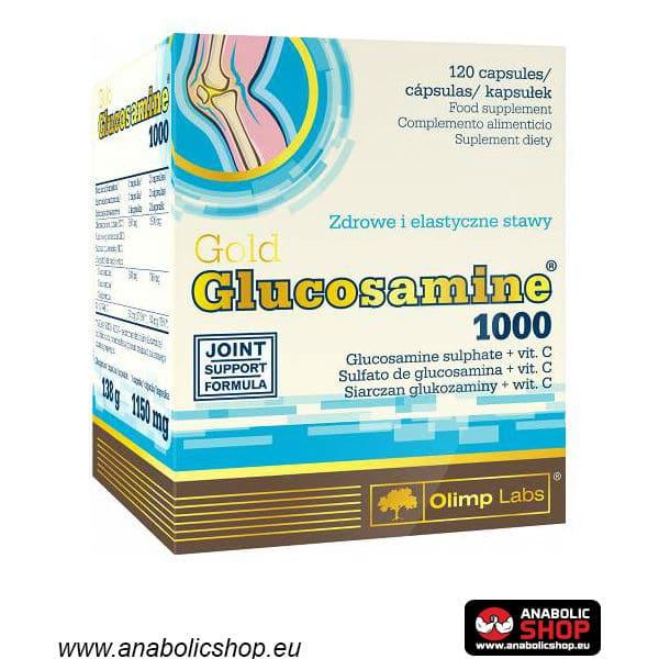 OLIMP GLUCOSAMINE GOLD 1000 Glikozamīns