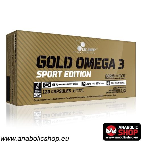 Gold Omega 3 Sport Edition Zivju Eļļa
