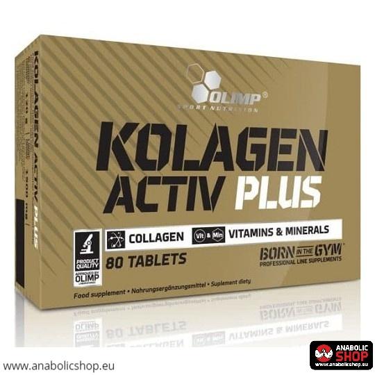 Olimp Kolagen Activ Plus 80 tabletes