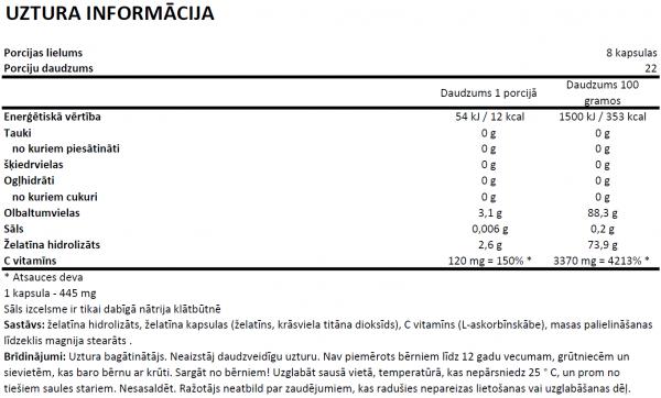 Flexit Gelacoll uztura informācija