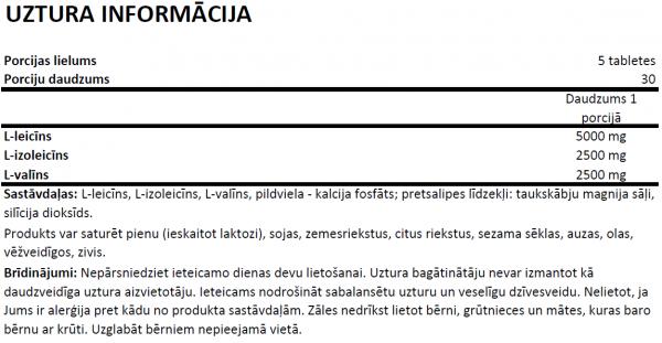 OstroVit BCAA 2-1-11000uztura informācija