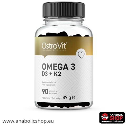 Ostrovit Omega 3 D3 + K2