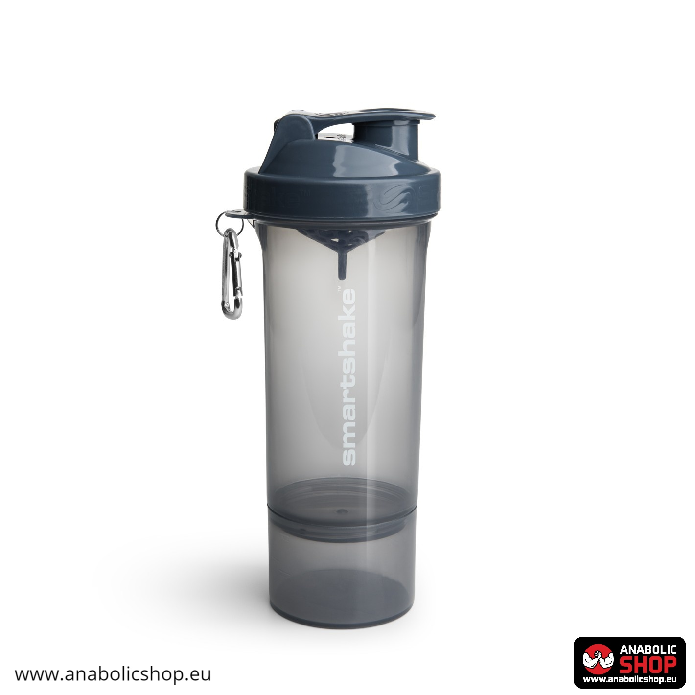 Smartshake Slim Stormy Grey 500ml
