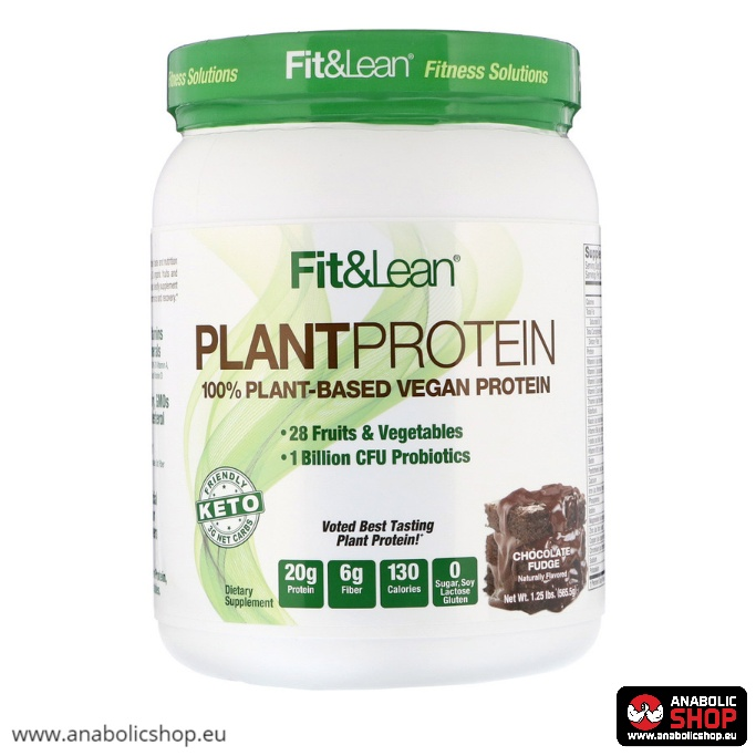 Fit & Lean Plant Protein