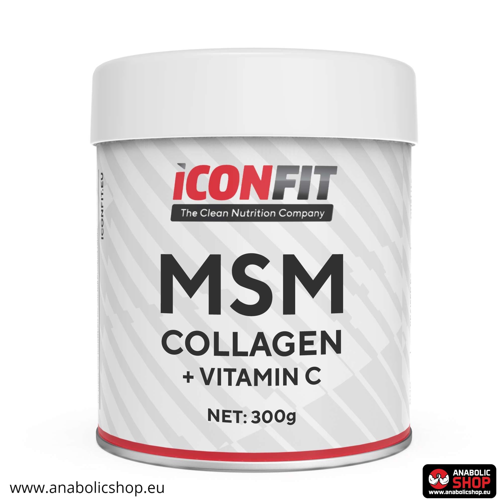 Iconfit MSM Collagen + Vitamin C