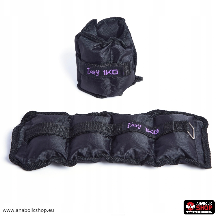 Easy Fitness Ankle/Wrist Weights 2 x 1kg