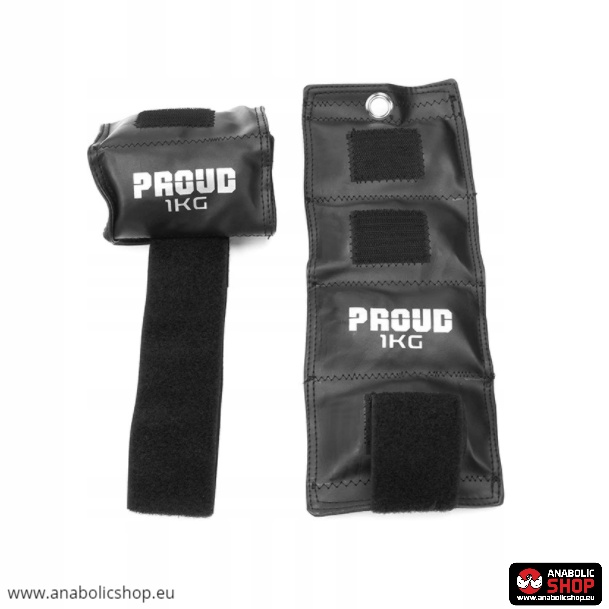 Easy Fitness Proud Ankle/Wrist Weights 2 x 1kg