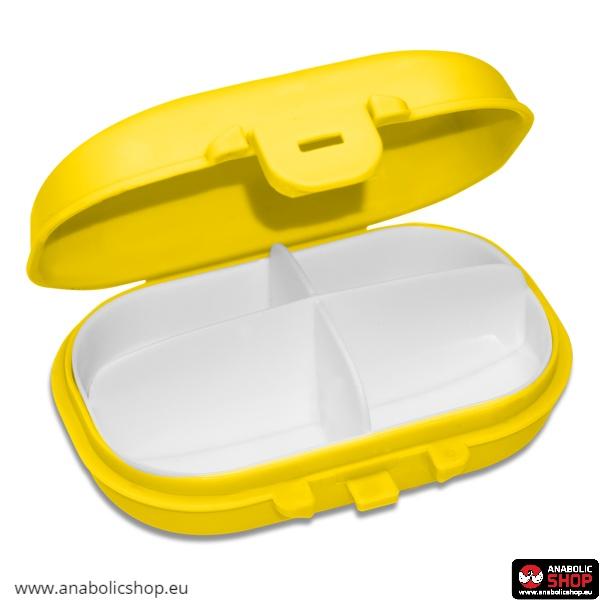 OstroVit Pharma Pill Box Yellow Tablešu kārba
