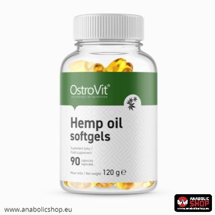 OstroVit Hemp Oil softgels