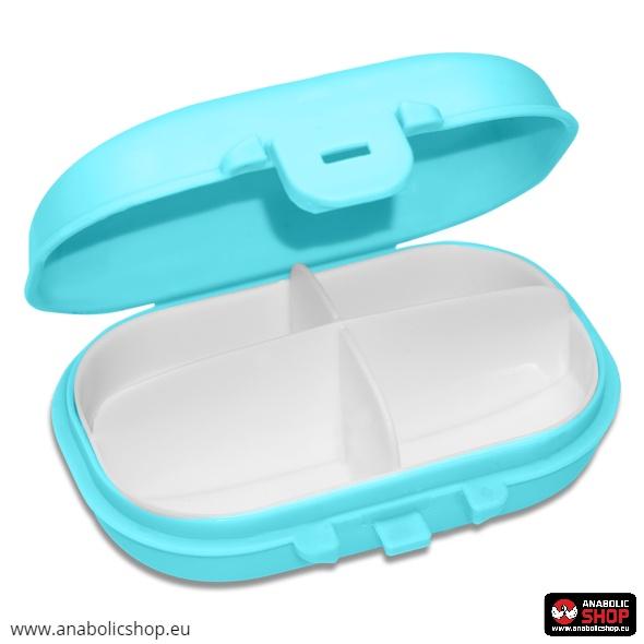 OstroVit Pharma Pill Box Blue Tablešu kārba