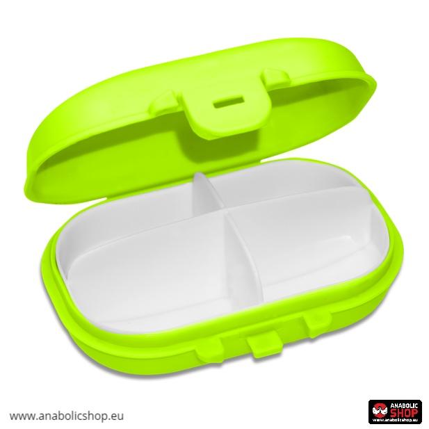 OstroVit Pharma Pill Box Green Tablešu kārba