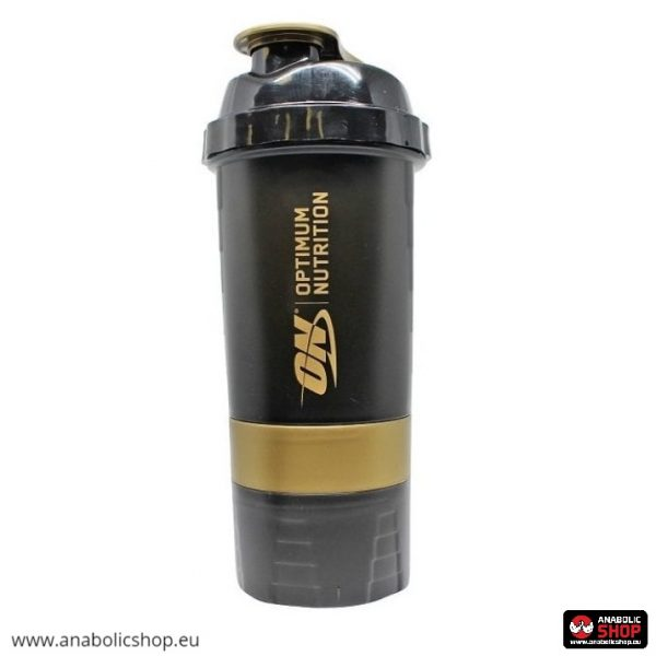 Optimum Nutrition Shaker Black & Gold 600 ml