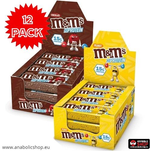 M&M Protein Bar 51 grams x 12 Box