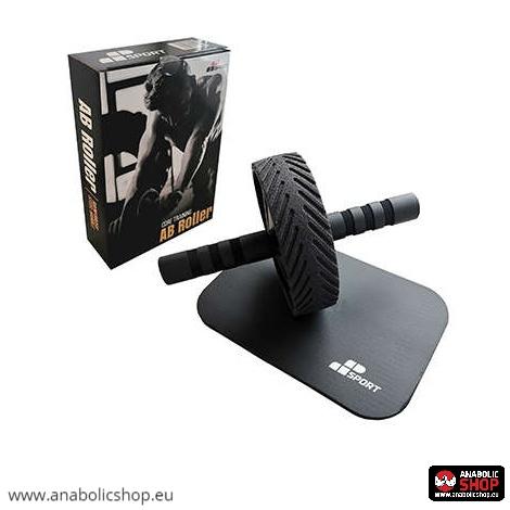Muscle Power AB Wheel Vēdera Trenažieris Black