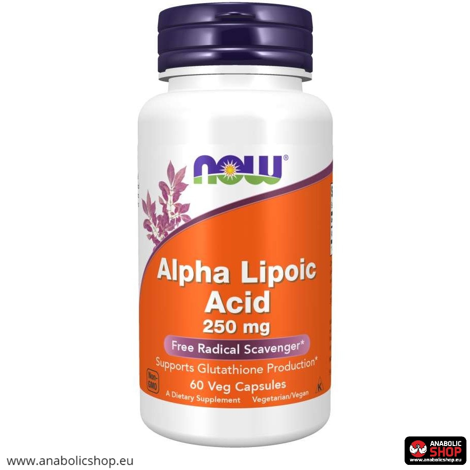 Now Foods Alpha Lipoic Acid 250mg 60 kapsulas