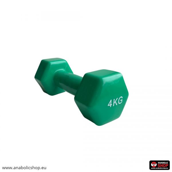 Gravity Vinyl dumbbell Hantele 4 kg Green