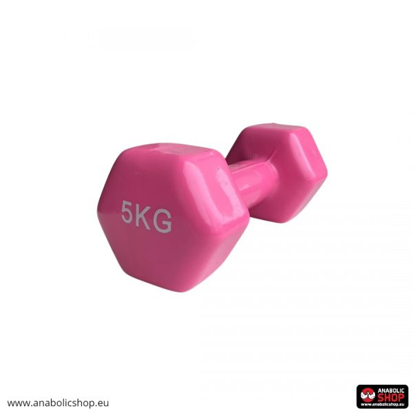 Gravity Vinyl dumbbell 5 kg Blue