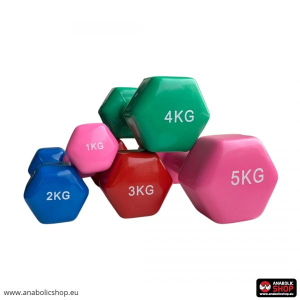 Gravity Vinyl dumbbell 3 kg Red
