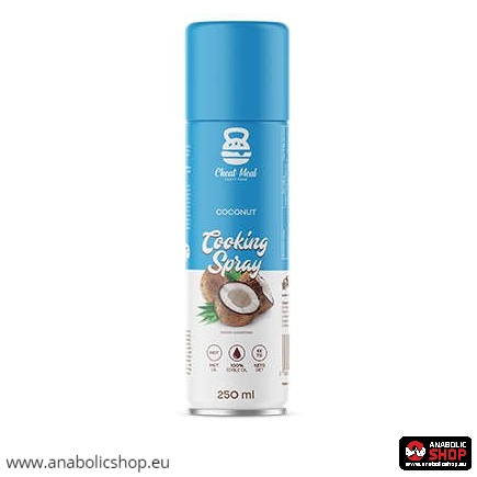 Cheat Meal Cooking Spray 250 ml Coconut Oil Cepšanas eļļa