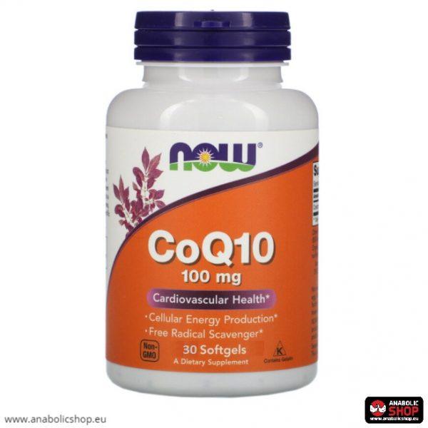 Now Foods CoQ10 ( Coenzyme Q10 ) 100 mg 30 kapsulas