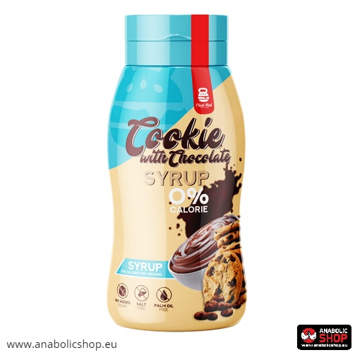 Cheat Meal Syrup 0% 350 ml Chocolate Cookie sīrups
