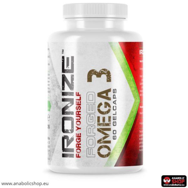 Ironize Forged Omega-3 60 želejas kapsulas