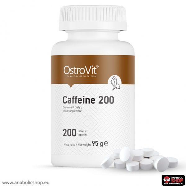 OstroVit Caffeine Tablets 200 Kofeīns 200 tabletes