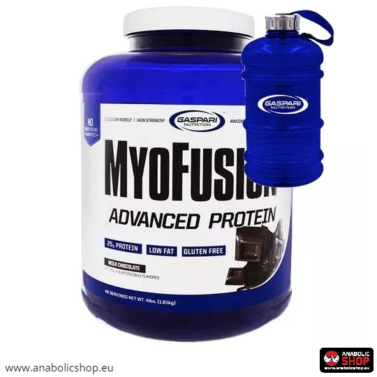Gaspari Myofusion Advanced 1.814 kg + Gaspari Water Jug 2.2l